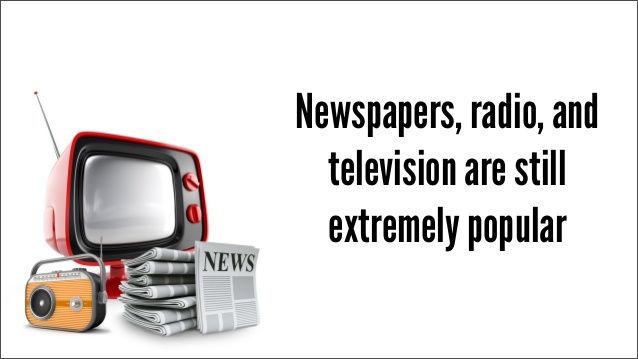 Traditional Media Marketing