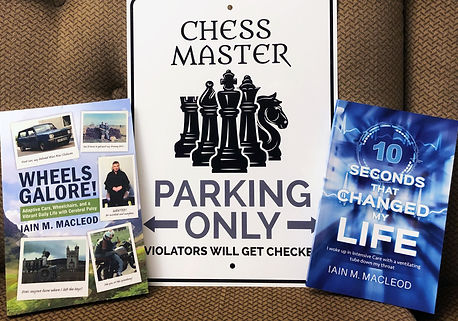 Chess Master sign with Iain's books.jpg