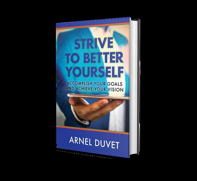 Strive to Better Yourself Arnel Duvet