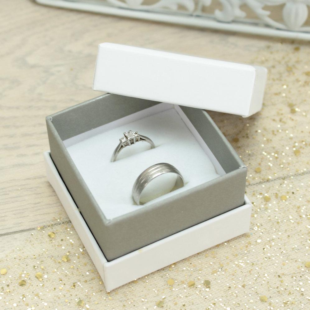 Wedding Ring Box.I Do Wedding Ring Box