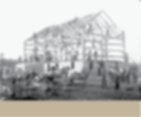 History pic of timber framed barn