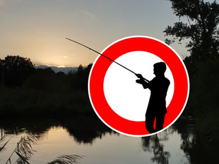 Gewässersperrungen wegen Besatzmaßnahmen