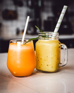 Refreshing Juice and Smoothies