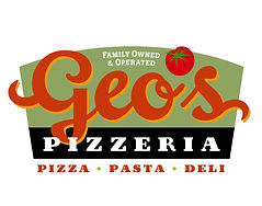 Geo's Pizzerial Logo Design | Kansas City