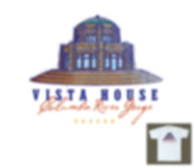 Columbia River Gorge Vista House T-shirt Design