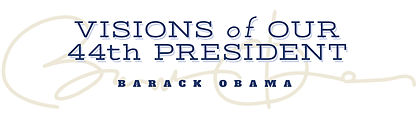 Visions of Our 44th President Logo Design | Albuquerque