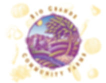 Rio Grande Community Farms Logo Design | Albuquerque
