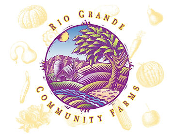 Rio Grande Community Farms Logo Design | Albuquerque