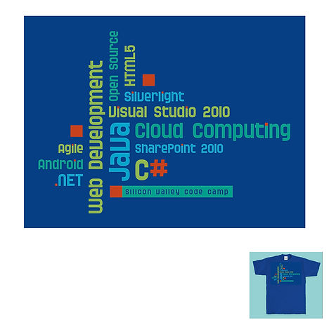 Silicon Valley Code Camp T-shirt Design