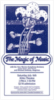 New Mexico Symphone Orchestra Concert Poster