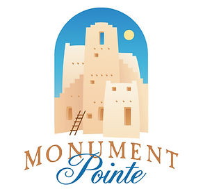 Monument Pointe Logo Design | Albuquerque