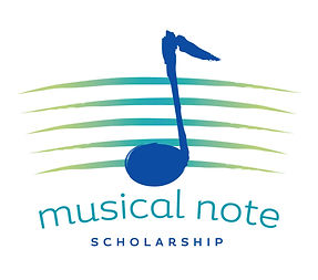 Musical Note Scholarship Logo Design | Albuquerque