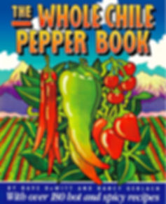 The Whole Chile Pepper Book Cover Illustration