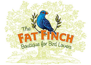 The Fat Finch Boutique for Bird Lovers Logo Design | Albuquerque