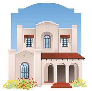 Real Estate Illustration | Albuquerque