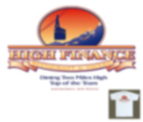 High Finance Restaurant T-shirt Design
