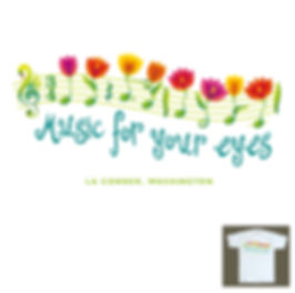 Music for your Eyes Concert Series T-shirt Design