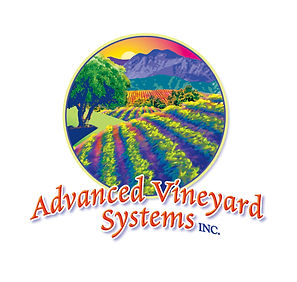 Advanced Vineyard Systems Logo Design | McMinnville, OR