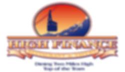 High Finance Restaurant Logo Design | Albuquerque