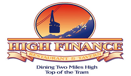 High Finance Restaurant Logo Design | Albuquerque