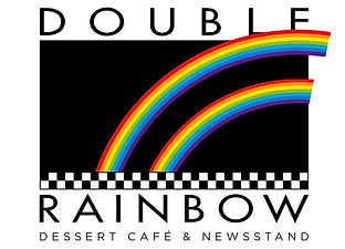 Double Rainbow Cafe Logo Design | Albuquerque