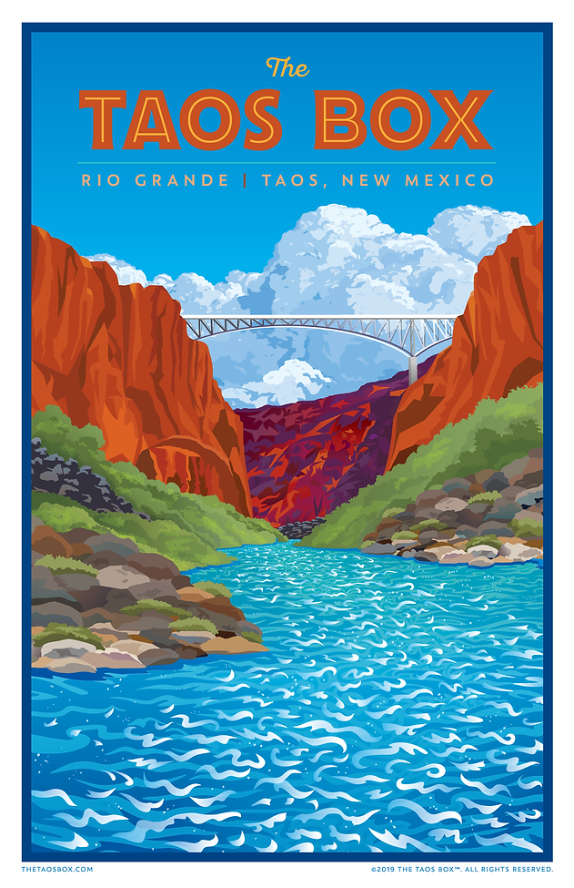 The Taos Box Poster