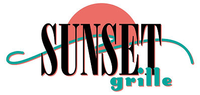 Sunset Grille Restaurant Logo Design | Albuquerque