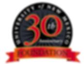 UNM Foundation 30th Anniversary Logo Design | Albuquerque