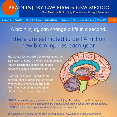 BRAIN INJURY LAW FIRM of NEW MEXICO