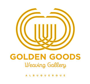 Golden Goods Weaving Gallery Logo Design | Albuquerque