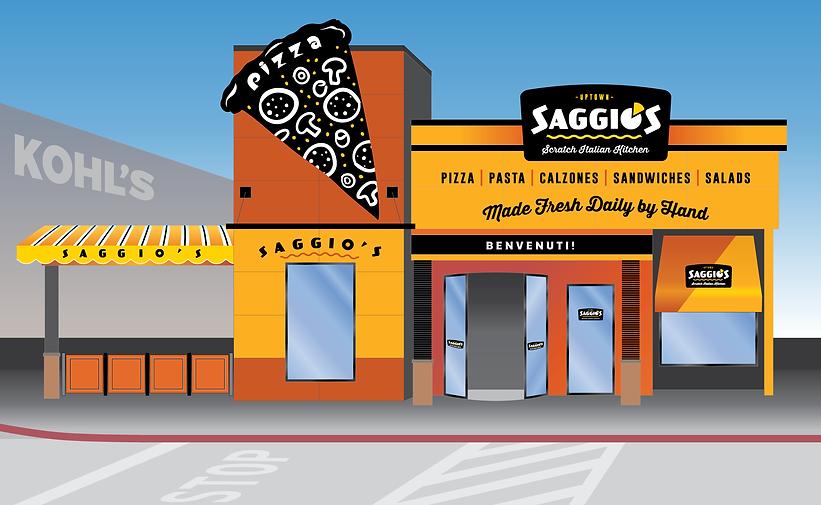 Saggio's-Uptown-facade-slice-cartoonish-