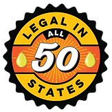 Legal in All Fifty States badge for website