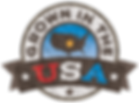 Grown in the USA badge for website
