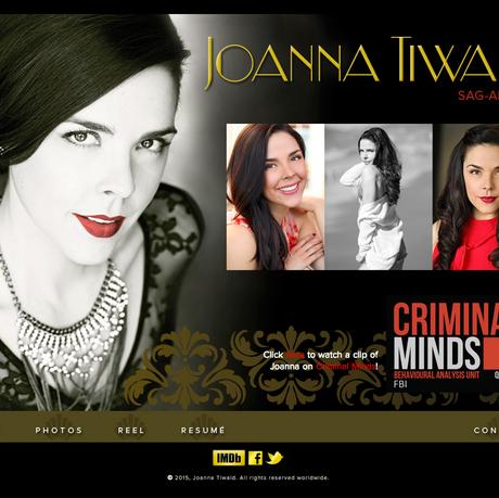 JOANNA TIWALD, ACTOR