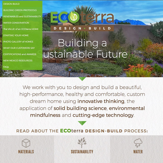 ECOterra DESIGN-BUILD | ENERGY CONSULTING
