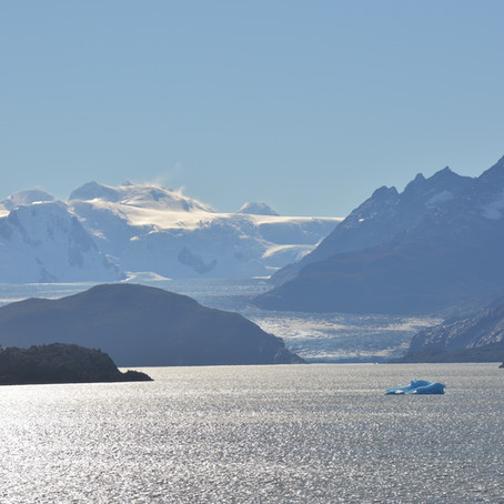 PATAGONIA, ON THE EDGE OF THE WORLD, getting to the start of the trek.