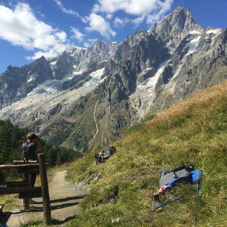 A tour around the Tour du Mont Blanc - Day 5, Courmayeur to Rifugio Bonatti