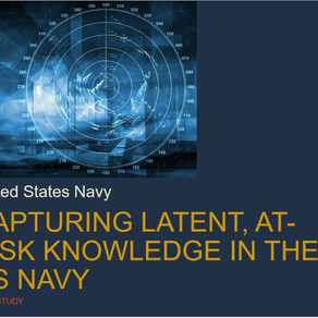Capturing Latent, At-risk Knowledge in the US Navy