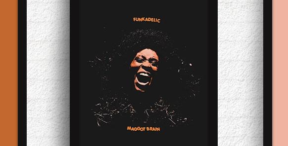 Quadro Funkadelic - Maggot Brain