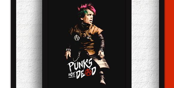 Quadro Punks not Dead - Tyrion Lannister