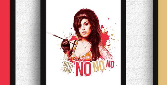 Quadro Amy - But I said: No, no, no