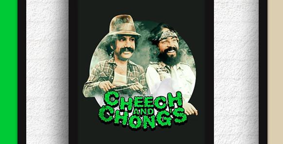 Quadro Cheech and Chong's