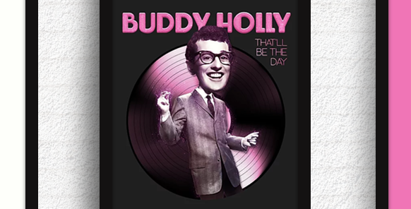 Quadro Buddy Holly - That'll be the day