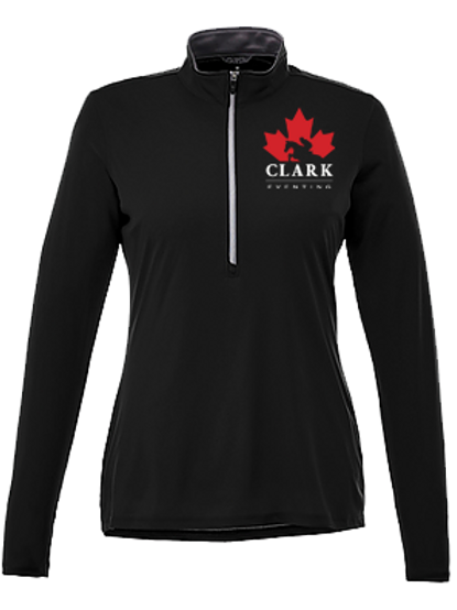 Clark Eventing 1/2 Zip Sun Shirt