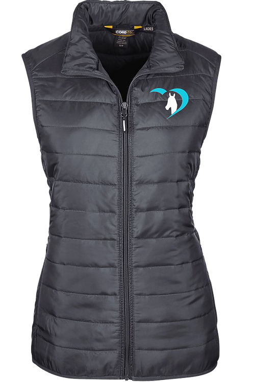 Heart of the Horse Puffer Vest