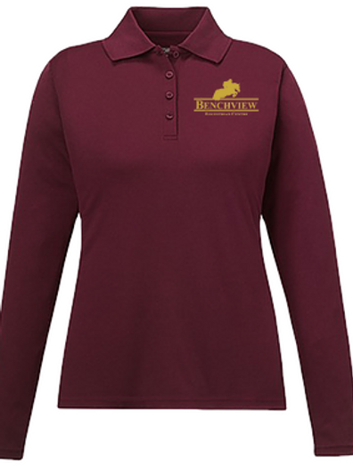 Benchview Long Sleeve Polo