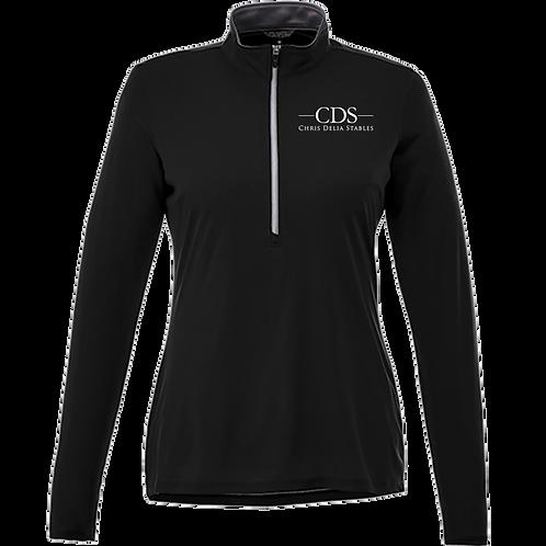 CDS Ladies 1/4 Zip Sun Shirt