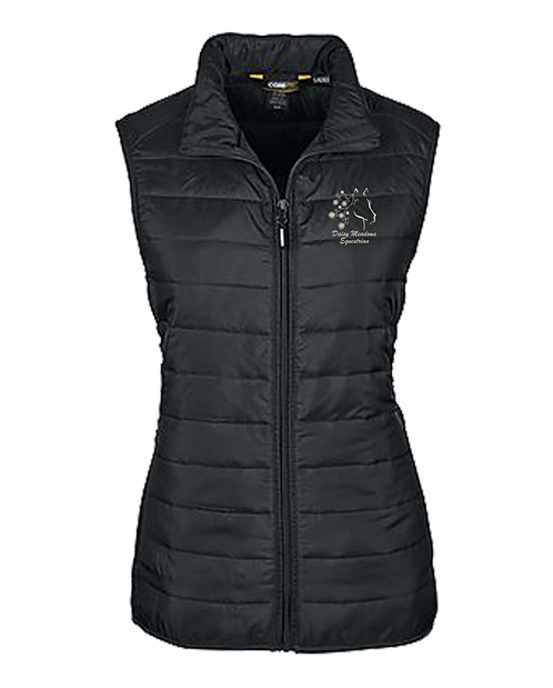 Daisy Meadows Ladies Packable Puffer Vest
