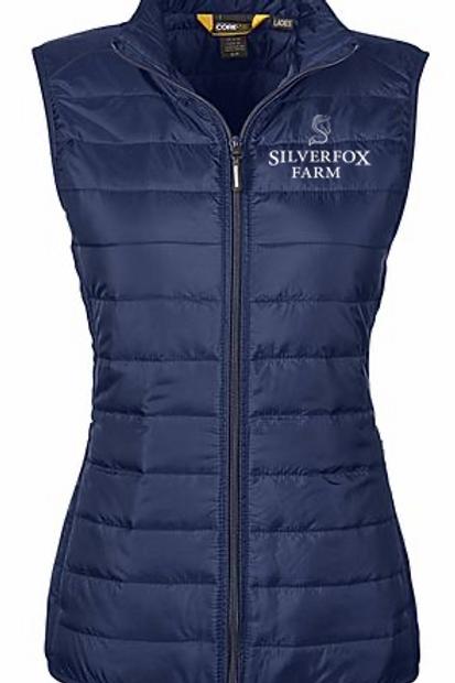 Silverfox Puffer Vest
