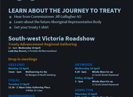 South West Treaty Roadshow